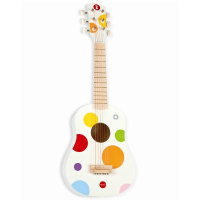 janod guitare pour enfant confetti made for game. Black Bedroom Furniture Sets. Home Design Ideas